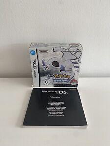 Pokemon Soul Silver Silberne Edition OVP Karton & Pokewalker Anleitung
