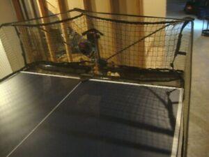 NEWGY ROBO PONG 2040 Table Tennis Robot Ping Screen Manual Control Box Complete