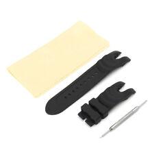 26mm Rubber Wrist Watch Band Strap Set For Invicta Reserve Collection Venom