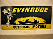 "1953 Johnson Outboard Motor Fishing Boat Motorboat Boat Metal Sign 9x12/"" A097"