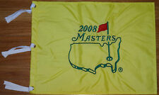 2008 MASTERS AUGUSTA NATIONAL PIN GOLF FLAG BRAND NEW PACKAGE GREAT 4 AUTOGRAPHS