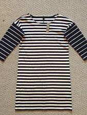 J CREW COLORBLOCK STRIPE PONTE DRESS NAVY IVORY SIZE XS S NWT F5572 $88 SOLD-OUT