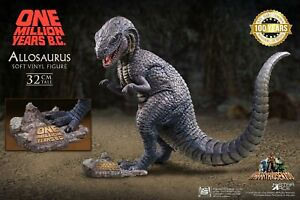 """Allosaurus with 1 Dioramas 12.6"""" Tall Soft Vinyl Statue by Star Ace  SA-9010"""