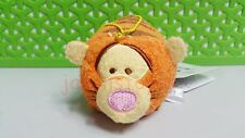3.5'' Disney Tsum Mini Tigger Doll Soft Stuffed Plush Toy With Chain Kids Gift