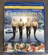 Courageous (Blu Ray + DVD Collector's Edition Combo) Free Shipping