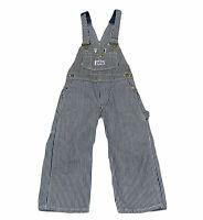 Vintage Big Smith Union Made Sanforized Denim Striped Overalls Youth Sz 3?