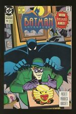 BATMAN ADVENTURES #10 FINE 1993 FOX TV SHOW RIDDLER #mt-2017-081