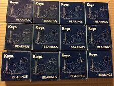 Lot Of 12 KOYO Bearings Model # 62062RSCE New