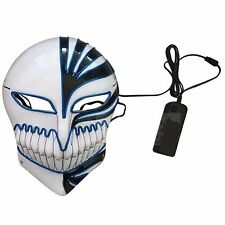 Novelties LED Mask Skull Skeleton Fancy Scary Halloween Adult Costume Accessory