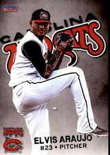 2014 Carolina Mudcats Choice 2 Elvis Araujo Maracaibo Venezuela VZ Baseball Card