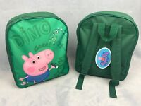Official George Pig Boys Backpack Rucksack School Nursery Bag Travel Picnic Park