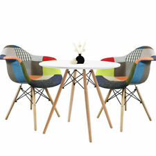Round Dining table and 2 chairs retro cafe restaurant  Eiffel=-