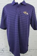 Men's NFL Apparel Baltimore Ravens Golf Polo Shirt Size XL