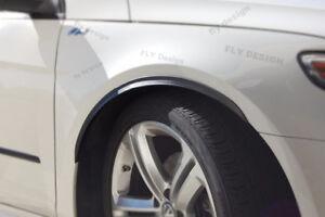 For Honda Tuning Rims 2x Wheel Thread Mudguard Trim Widening Carbon Look