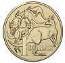 AUSTRALIA 2017 Uncirculated $1 One Dollar Coin MOB OF ROOS KANGAROO LOW MINTAGE