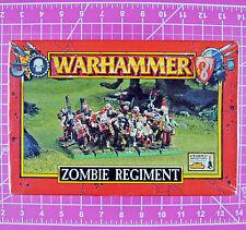 Warhammer Zombie Regiment NIB, Citadel 1999 Games Workshop Vampire Counts Undead