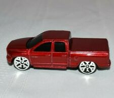 Maisto 2002 Dodge Ram 1500 Quad Cab Diecast Red 1:64, 11427