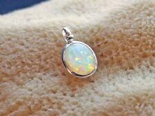 Anhänger mit Opal Triplette oval 925 Sterling Silber für Kette Schmuck   BC19