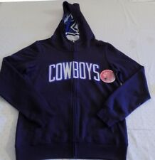 3fe6fb532 Dallas Cowboys Pullover Hoodie Medium Ladies Navy Embroidered Logo Womens  NFL