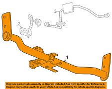 GM OEM Trailer Hitch-Rear Bumper-Trailer Hitch 25980916