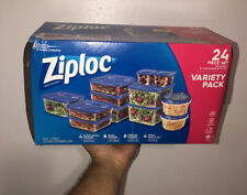 Ziploc Variety Pack Containers with Lids, Assorted Size 308674