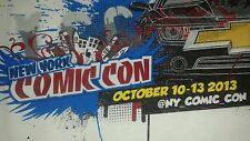 New York City Comic Con 2013 White T-shirt - L Size - Pre-Owned