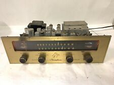 The Fisher Model 4000 R Stereophonic Stereo Tube AM FM HiFi Tuner - Works!