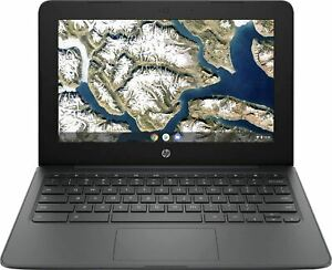 "Newest Flagship HP Chromebook, 11.6"" HD (1366 x 768) Display, Intel Celeron Proc"