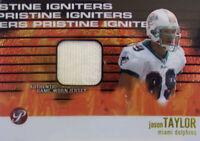 Jason Taylor Topps Pristine 2003 Igniters Game Worn Jersey Miami Dolphins
