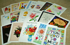Thank You~Assortment~Small Cards~BLANK~ON~THE~INSIDE~10 count~FANTASTIC