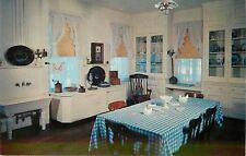 Prairie Du Chien WI~Wide Sink~Cast Iron Pan~Grinder~Villa Louis~1950s Postcard