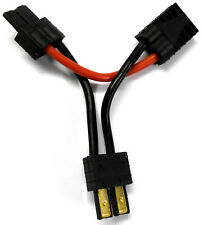 8277 RC 2 Pin Male Series Y Cable to 1 Female