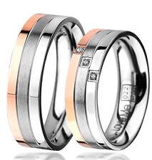 NEU Eheringe Trauringe Verlobungsringe aus Edelstahl mit Lasergravur   022R