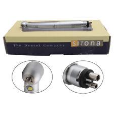 Sirona T3 Racer Dental High Speed Handpiece LED Fiber Optic Torque Push 4Holes