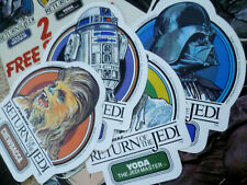 10 Vintage 1984 Star Wars Return Of The Jedi Marvel Comics 70-79 Poster Stickers