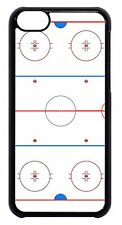 Ice Hockey Rink Sport NHL Black or White Hard Case Cover For Apple iPod 4 5 6
