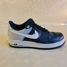 Nike Air Force 1'82 AF 1 Nero Da Uomo UK 9 EU 44 Scarpe Da