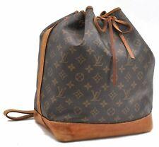 Authentic Louis Vuitton Monogram Noe Shoulder Bag M42224 LV A6970