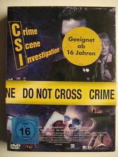 CSI SEASON ONE EPISODEN 13 - 23 - SEASON 1.2 - 3 DVD BOX - OVP