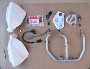Honda XR400R 1996-2004 OEM Handguards + assorted parts