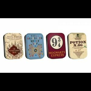 -=] Harry Potter Timeless Tins 4-Pack Map [=-