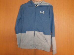 Under Armour girls boys loose full zipper hoodie size YMD
