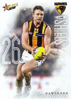 ✺New✺ 2019 HAWTHORN HAWKS AFL Card LIAM SHIELS Footy Stars