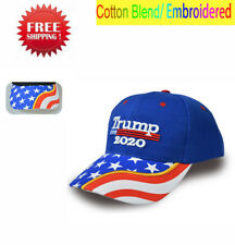 US Donald Trump 2020 MAGA Blue Embroidered Hat Make America Great Again  Cap