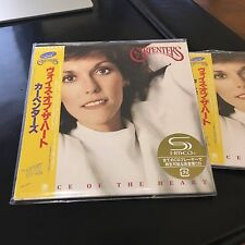 Voice of the Heart [Remaster] by Carpenters CD, 2009, SHM, JAPAN