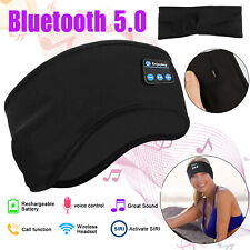 Bluetooth 5.0 Wireless Sleep Headband Headphones Music Sport Headsets Sweatproof