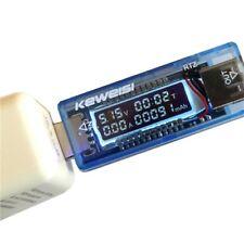 KEWEISI 4V-20V 0-3A USB Power Battery Capacity Tester Voltage Current Meter