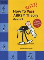 How To Blitz! ABRSM Theory Grade 5 Revised Edition Sheet Music Book Exam