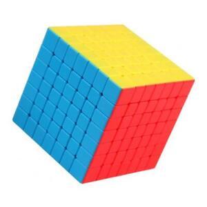 1PC Professional 7x7x7 Magic   Twist Puzzle Finger Flexible Play Toys Coloful