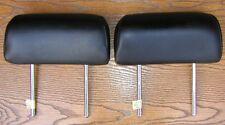 1999-2002 Infiniti G20 Rear Driver Passenger Headrest Leather Black